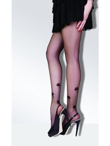 Daymod Roses Desenli Külotlu Çorap
