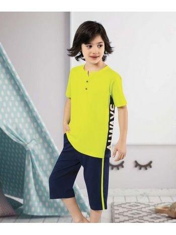 Sarı Çocuk Kapri Takım HMD 5375