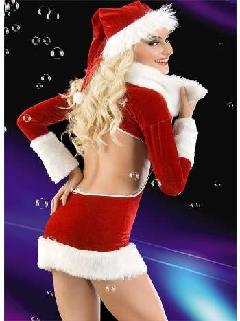 La Blinque Seksi Noel Kostüm 2053