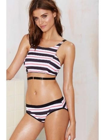 Şık Tasarım Renkli Tankini Bikini