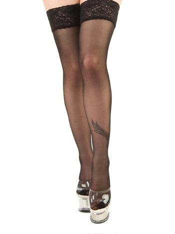 La Blinque Siyah Jartiyer Çorap 901S