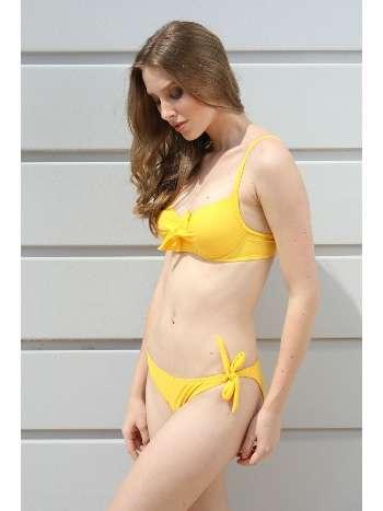 Spenza Swimwear Düğüm Detaylı Sarı Bikini Takımı