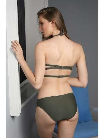 Spenza Swimwear Haki Biye Detaylı Bikini Takımı