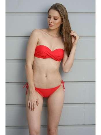 Spenza Swimwear Kırmızı Straplez Bikini Takım