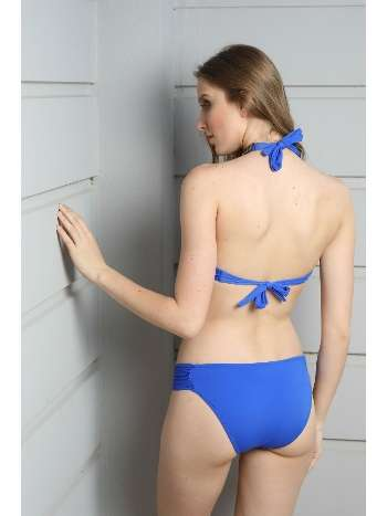 Spenza Swimwear Mavi Taş Detaylı Straplez Bikini