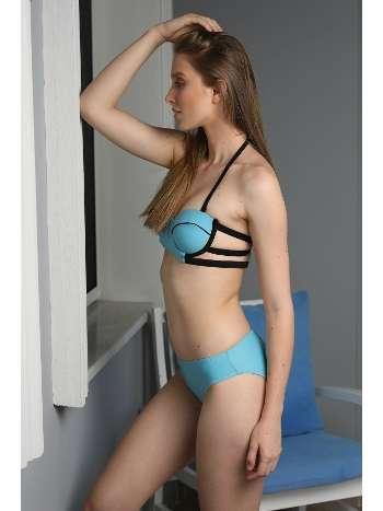 Spenza Swimwear Turkuvaz Biye Detaylı Bikini Takımı