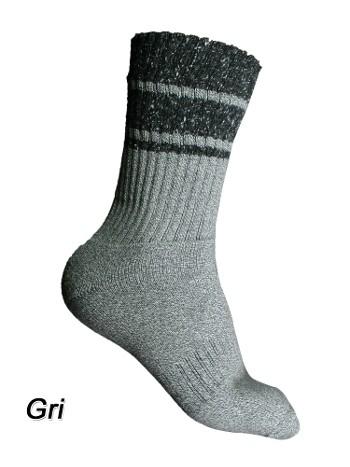 Tf Antrasiti-Blister Çorap Astarli Unisex Thermoform HZTS47