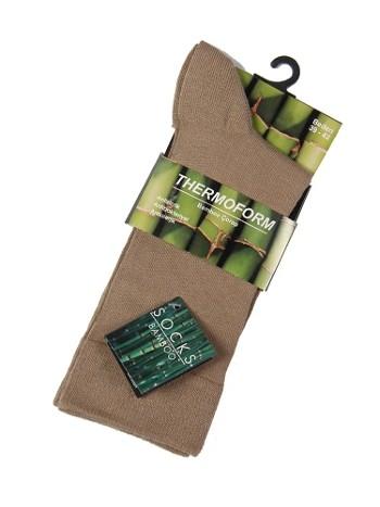 Tf Bambu Çorap Bambu Unisex Thermoform HZTS4