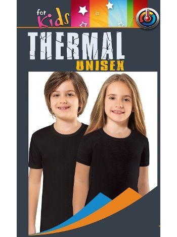 Unisex Çocuk Kısa Kol Termal Ust Anıt 4779