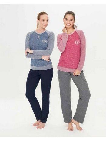 Us. Polo Assn. 15758 Yuvarlak Yaka Pijama Takım