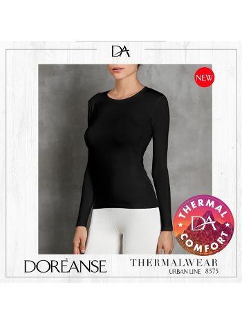 Uzun Kollu Kadın Termal T-shirt Doreanse 8575