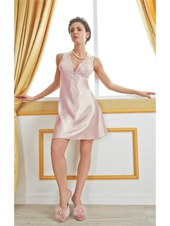 Versace Kalın Askılı Bayan Gecelik V1102