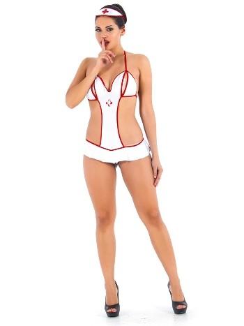 Vixson Özel Bölgesi Açık Hemşire Kostümü