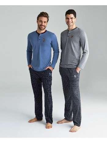 Yarım Patlı Pijama Takımı Us. POLO Assn. 18126