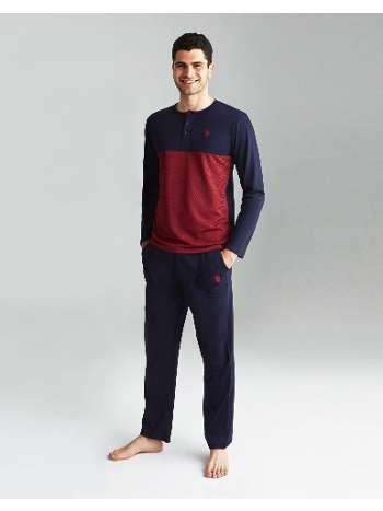Yarım Patlı Pijama Takımı Us. POLO Assn. 18138