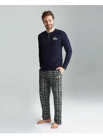 Yarım Patlı Pijama Takımı Us. POLO Assn. 18156