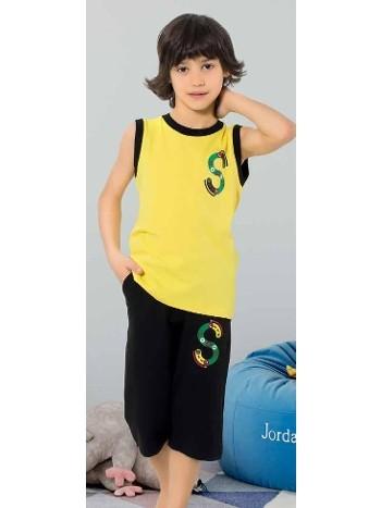 Yuppi Erkek Çocuk Kapri Takım HMD 5398