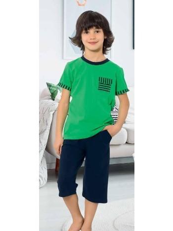 Yuppi Erkek Çocuk Kapri Takım HMD 5399
