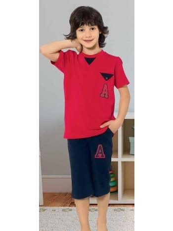 Yuppi Erkek Çocuk Kapri Takım HMD 5400