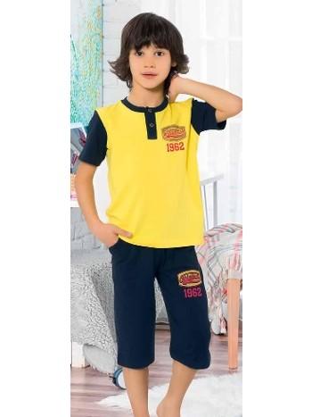 Yuppi Erkek Çocuk Kapri Takım HMD 5403