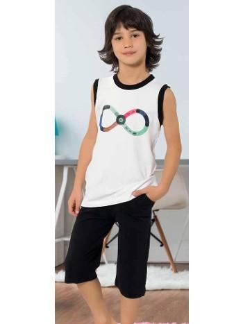 Yuppi Erkek Çocuk Kapri Takım HMD 5405