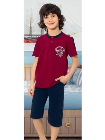 Yuppi Erkek Çocuk Kapri Takım HMD 5408