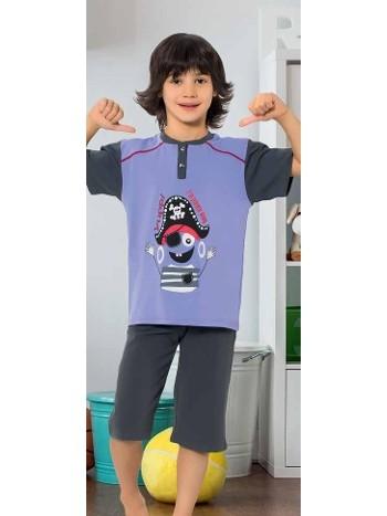 Yuppi Erkek Çocuk Kapri Takım HMD 5409
