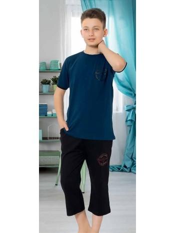 Yuppi Erkek Garson Kapri Takım HMD 7051