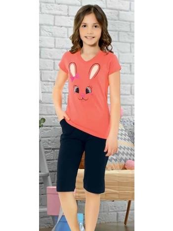 Yuppi Kız Çocuk Kapri Takım HMD 6077