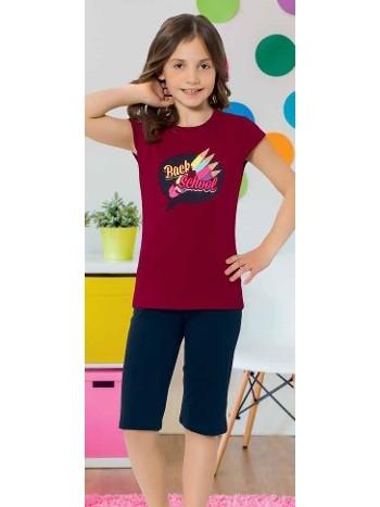 Yuppi Kız Çocuk Kapri Takım HMD 6078