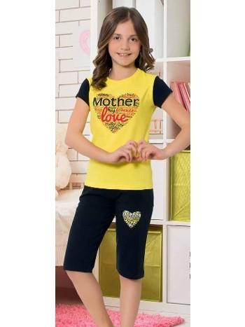 Yuppi Kız Çocuk Kapri Takım HMD 6079