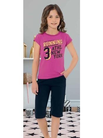 Yuppi Kız Çocuk Kapri Takım HMD 6081