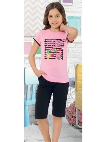 Yuppi Kız Çocuk Kapri Takım HMD 6084