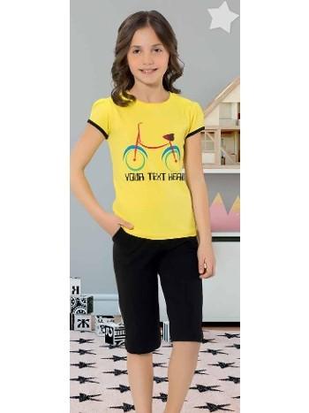 Yuppi Kız Çocuk Kapri Takım HMD 6085