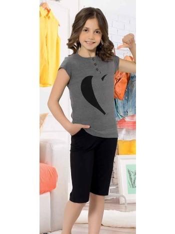Yuppi Kız Çocuk Kapri Takım HMD 6087