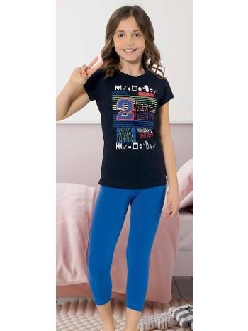 Yuppi Kız Çocuk Kapri Takım HMD 6091