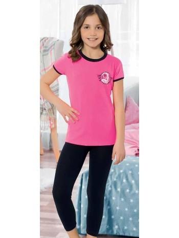Yuppi Kız Çocuk Kapri Takım HMD 6092