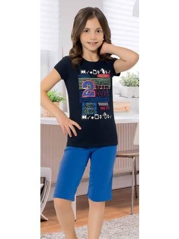 Yuppi Kız Çocuk Kapri Takım HMD 6093