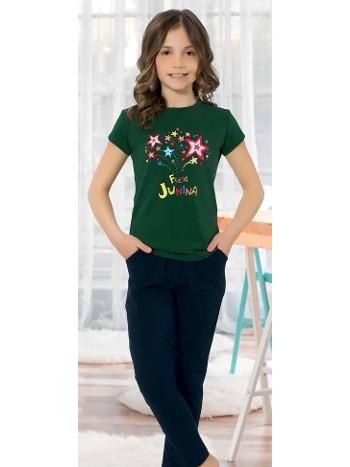 Yuppi Kız Çocuk Pijama Takım HMD 6090