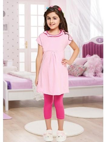 Yuvarlak Cocuk Pijama Takımı Dünya Yıldızı 7109