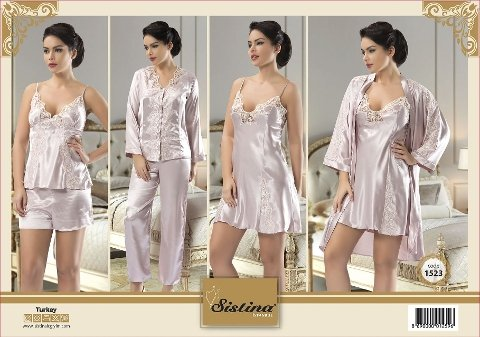 6'lı Set Saten Sistina 1523