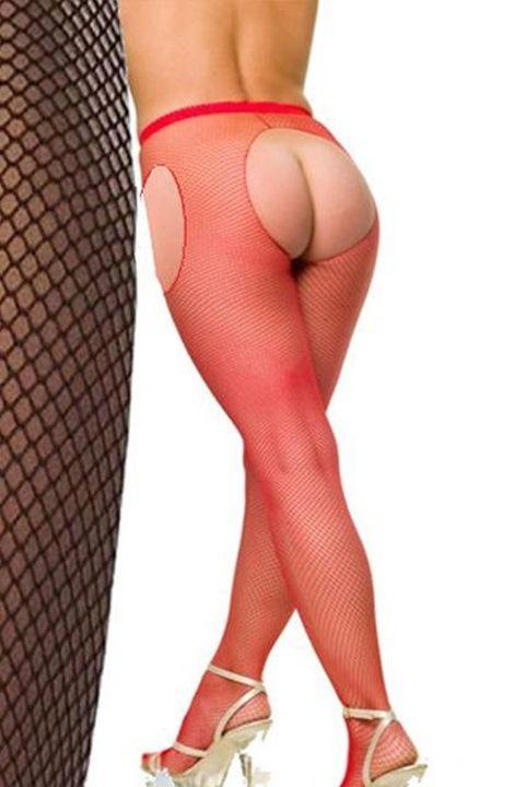 Fantazi Külotlu Çoraplar La Blinque Ağı Açık Külotlu Çorap 904k
