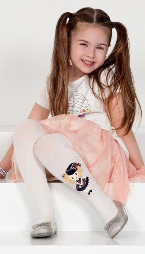 Daymod Alara Desenli Külotlu Çocuk Çorabı