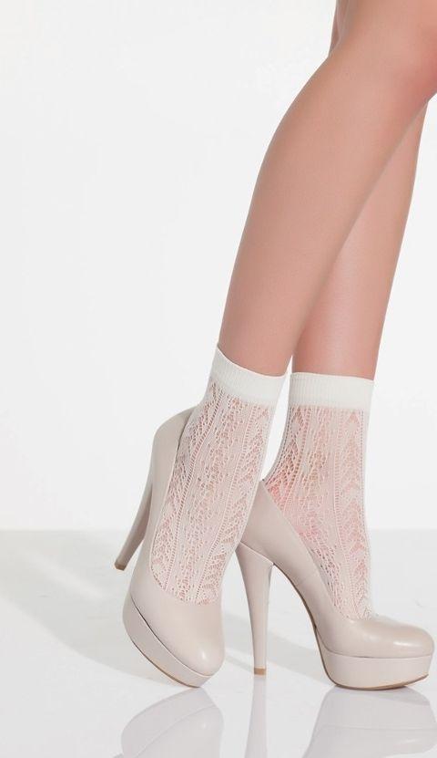 Daymod Amatista Desenli Soket Çorap
