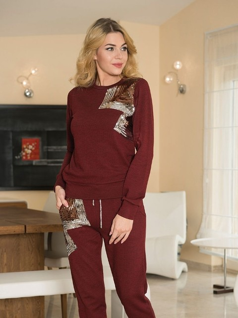 Sweatshirt Pijama Takım Anıl 9422