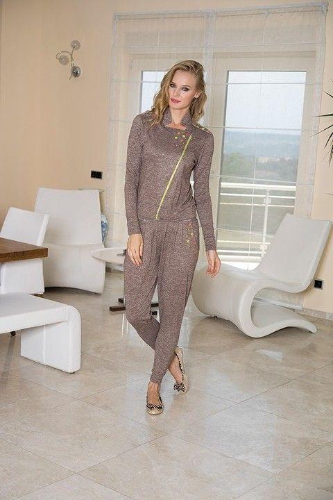 Bayan Sweatshirt Pijama Takım Anıl 9358
