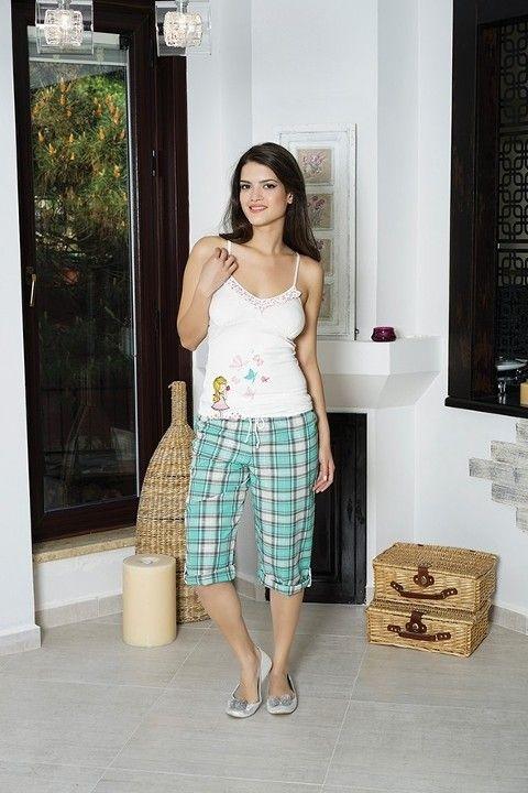 Anıl Kaprili Bayan Pijama Takımı 9155