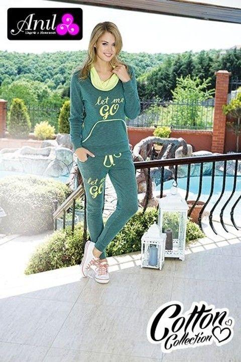Sweatshirt Pijama Takım Anıl 9299