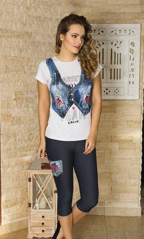 Bayan T-Shirt Tayt Takım Anıl 9337
