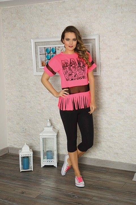 Bayan T-Shirt Tayt Takım Anıl 9315